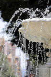 Water splashing out of a Marble Royalty Free Stock Photos