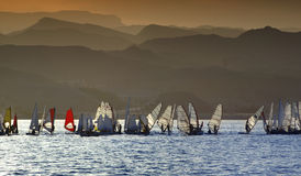 Water sport in Eilat, Israel Stock Photography
