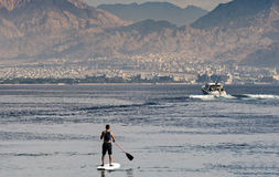 Water sport and other entertainment in Eilat, Israel Royalty Free Stock Photos