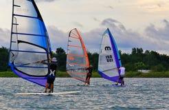 Water sport racing Stock Photo