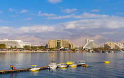 Water sport and recreation activities in Eilat Stock Photography