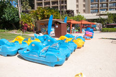 Water sport rentals Royalty Free Stock Images