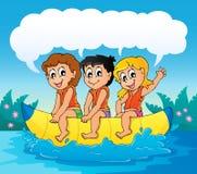 Water sport theme image 7 Stock Photo