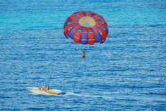 Water Sports At Tropical Resort Stock Images