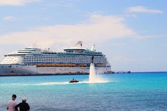 Water sports cruise royalty free stock images