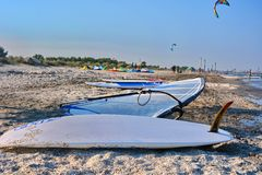 Water sports equipment Stock Images