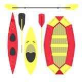 Water sports equipment stock illustration