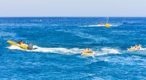 Water sports. Greece Stock Photo