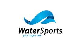 Water Sports Logo Royalty Free Stock Photo