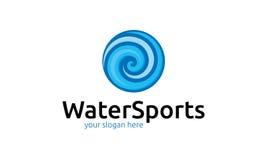 Water Sports Logo Royalty Free Stock Photos