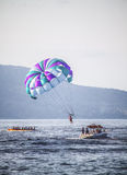 Water Sports Parasailing Stock Photography