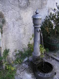 Water spout in Italian village Royalty Free Stock Image