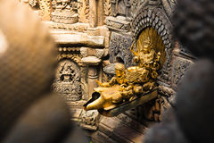 Water Spout Patan Durbar Square royalty free stock images