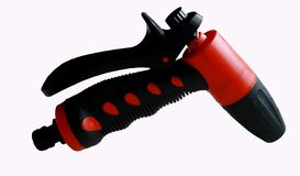 Water spray gun. For car wash royalty free stock image
