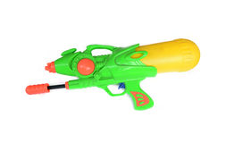 Water spray gun. On the white background Stock Images