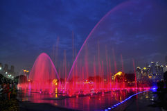 Musical fountain Royalty Free Stock Image