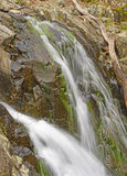 Water and Spray in a Secluded Falls Stock Photography