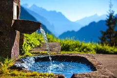 Water spring stock images