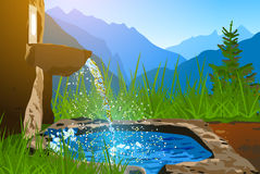 Water spring Royalty Free Stock Photo
