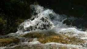 Water Spring Slow Motion stock video footage
