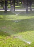 Water sprinkle Stock Photo