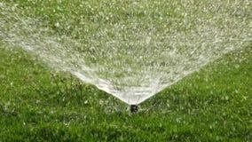 Water sprinkle stock video footage