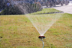 Water sprinkler Royalty Free Stock Image