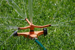 Water sprinkler Stock Image