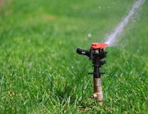 Water sprinkler 4 Royalty Free Stock Photography