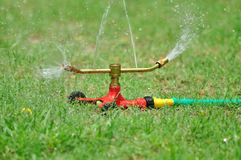 Water sprinkler Royalty Free Stock Photography