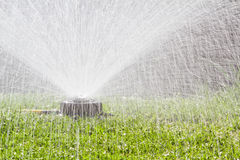 Water sprinkler Stock Photos