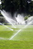 Water sprinklers Stock Photography