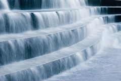 Water and Stairs Royalty Free Stock Image