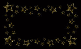 Water Star Frame Stock Images
