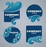 Water stickers Royalty Free Stock Photo