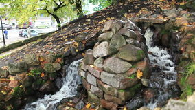 Water and stone. Royalty Free Stock Images