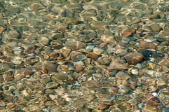 Water and Stones Royalty Free Stock Photos