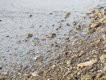 Water and stones. Beautiful seascapes. Water and stones. Close up Royalty Free Stock Image