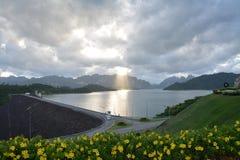 Water Storage Dam Royalty Free Stock Photo