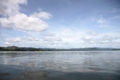 Water storage dams. Stock Image