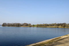 Water-storage reservoir Drozdy. In Minsk, Belarus Royalty Free Stock Image