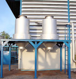 Water storage tank Stock Images