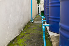 Water storage tank. Royalty Free Stock Image