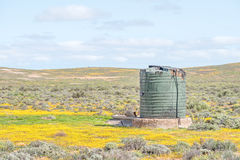 Water storage tank Royalty Free Stock Photos