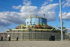 Water storage tank in London Stock Image