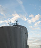 Water storage tanks. For power generation Royalty Free Stock Photo