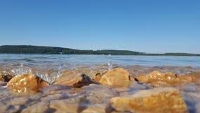 Water stoun. Summer warm see Stock Photography