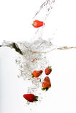 Water Strawberry Royalty Free Stock Photography
