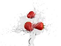 Water strawberry Stock Image