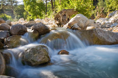 Water stream. In nature park near kemer, antalya, turkey Royalty Free Stock Photo